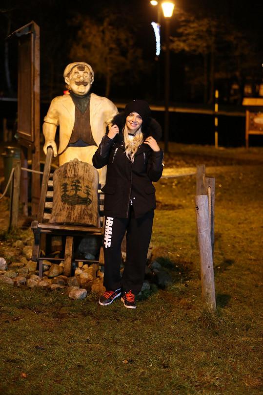 Špindlerův Mlýn navštívila Dara letos už poněkolikáté.