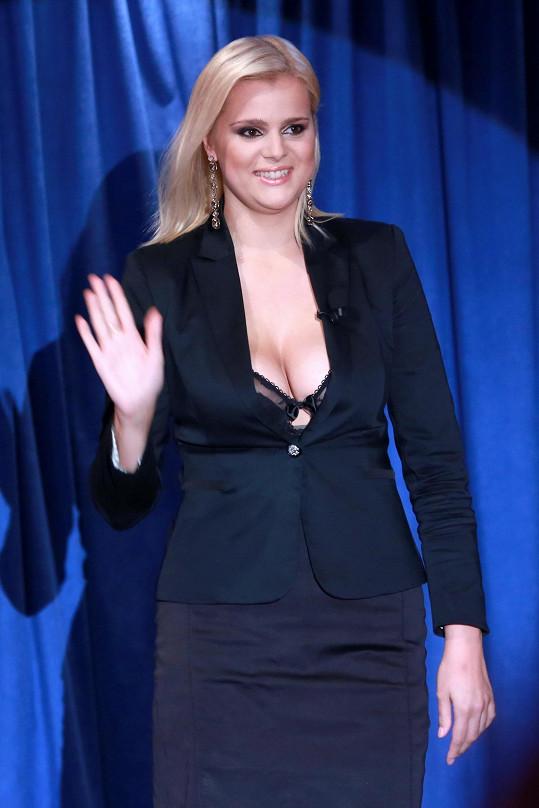 Ornella Štiková byla hostem show TGM.