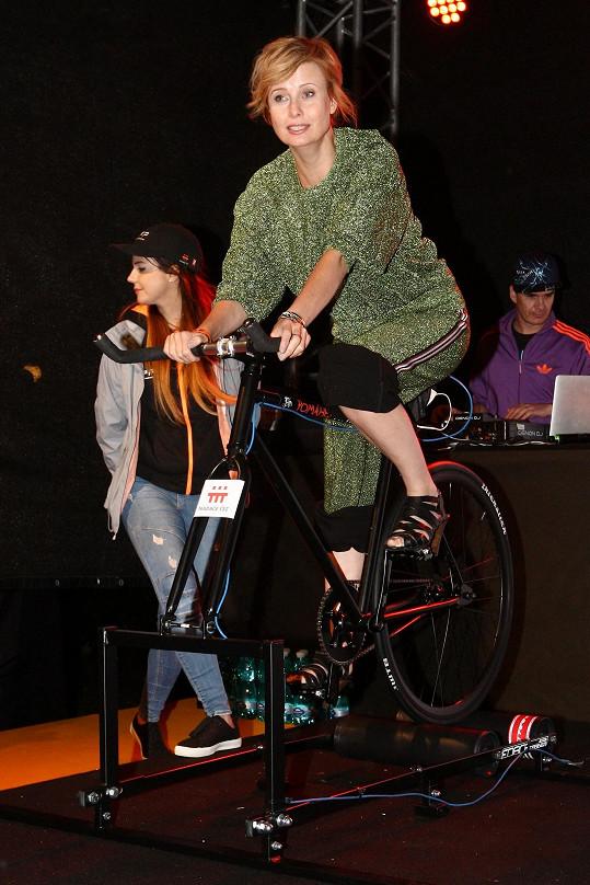 A na kole pro nadaci ČEZ