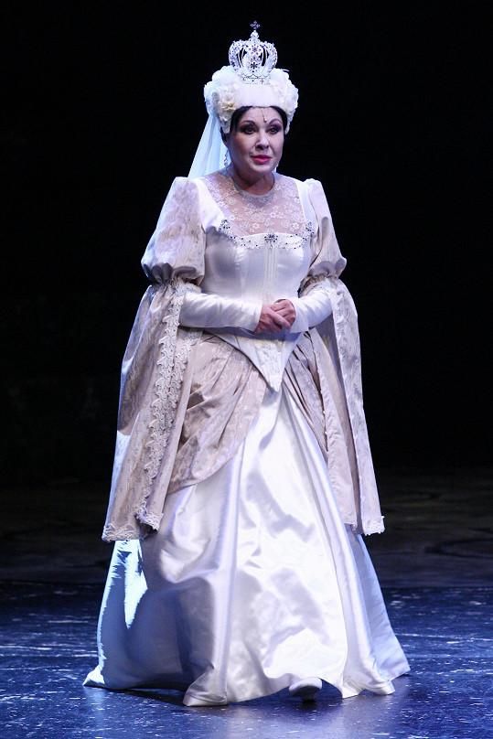Dáda Patrasová hraje maminku Aničky.