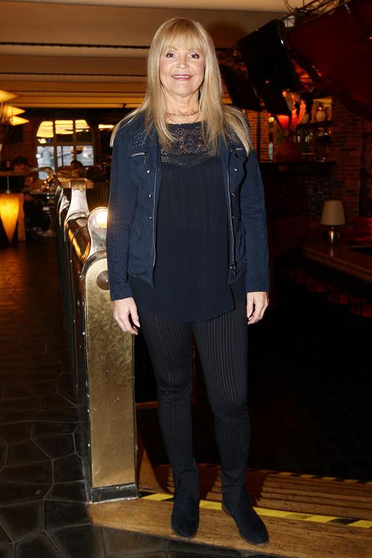 Věra Martinová svým vystoupením i samotnou účastí podpořila organizaci UNICEF.