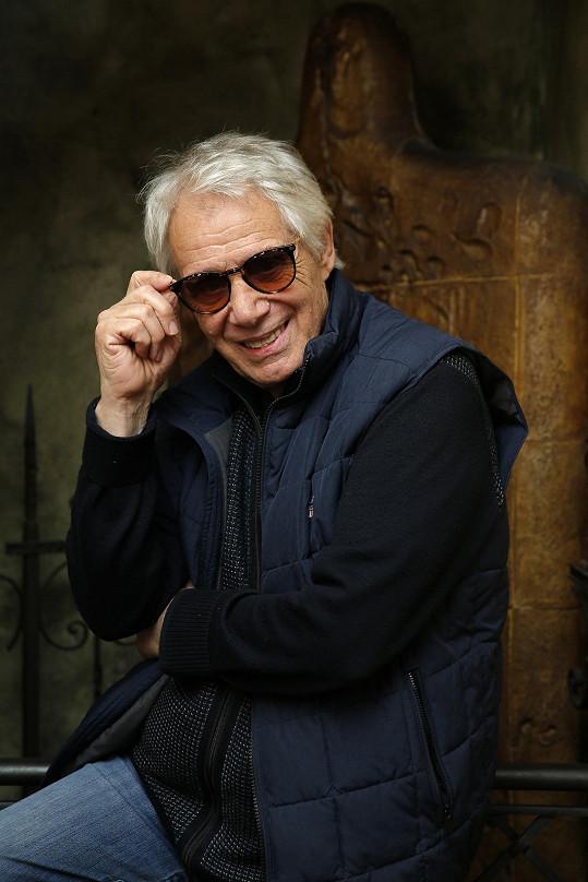 Josef Laufer slaví osmdesátku.