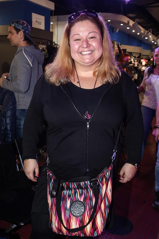 Aneta Christovová se také dala na hubnutí.