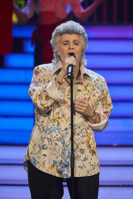 Zpívala píseň Volare (Nel Blu Di Pinto Di Blu).