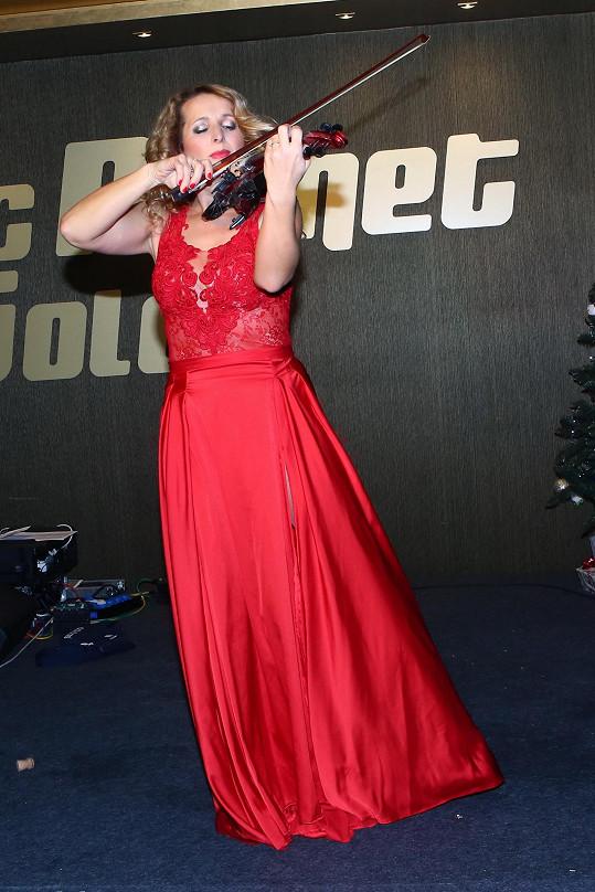 Markéta Muzikářová jako houslistka neměla v poslední době moc uplatnění.