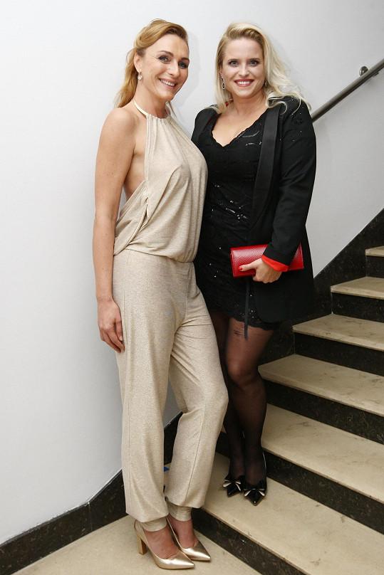 Markéta s návrhářkou Alenou Wilson