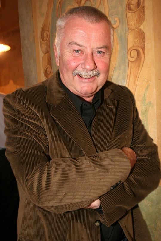 Ladislav Potměšil zemřel v pondělí 12. července ve věku 75 let.