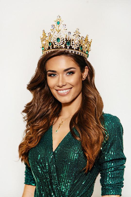 Karolína se před měsícem stala vítězkou světové soutěže krásy Miss Global.
