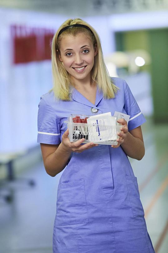 Jako seriálová zdravotní sestřička