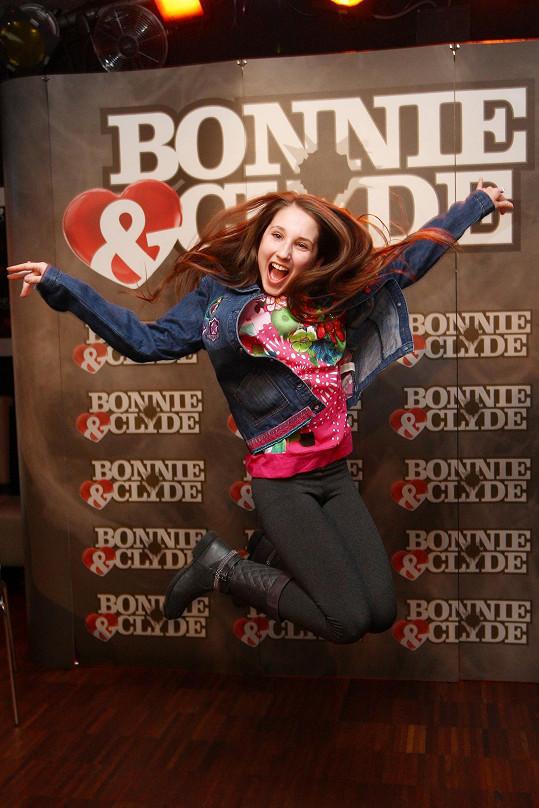 Natálka si v muzikálu Bonnie & Clyde zahraje mladou Bonnie.