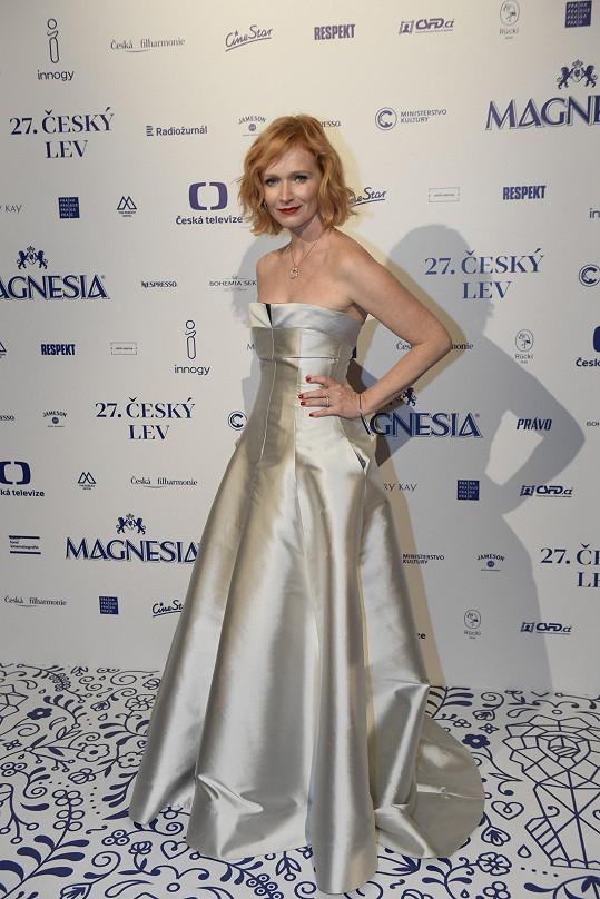 Aňa loni na 26. ročníku cen Český lev, když byla nominována za vedlejší ženský herecký výkon v Amnestii.
