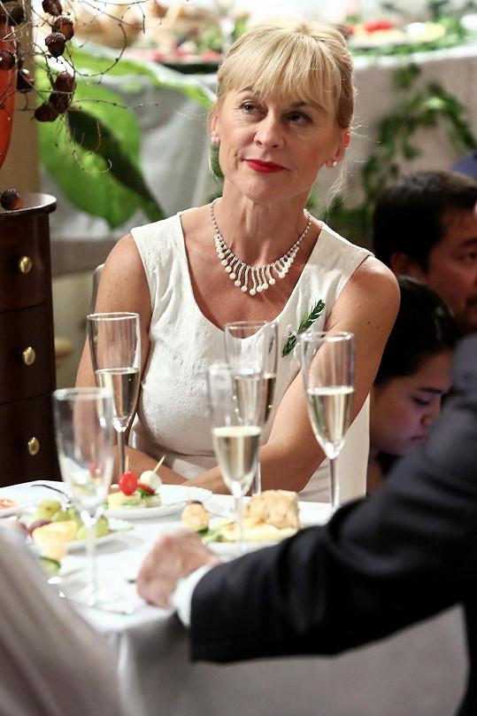 Dana Batulková hraje i v seriálu Jakubovou matku.