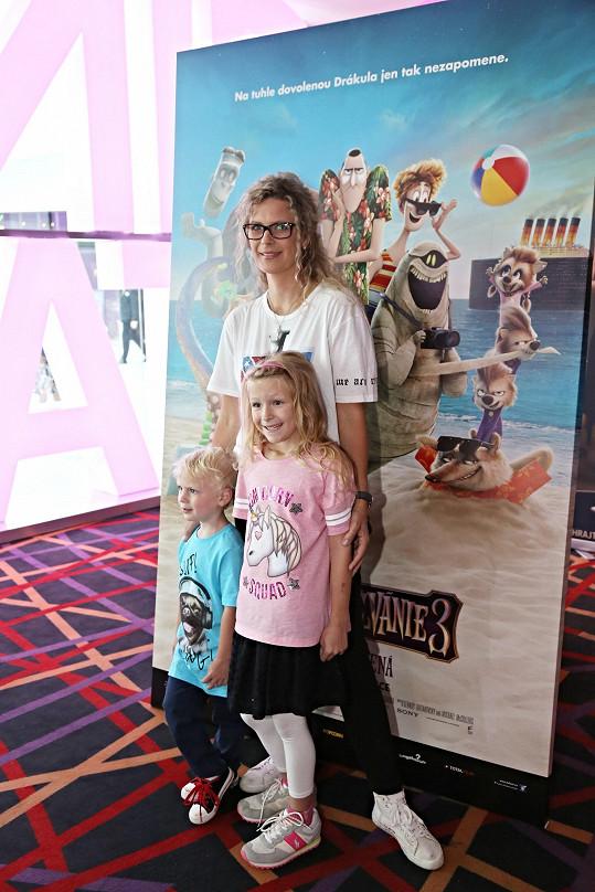 S dětmi v kině