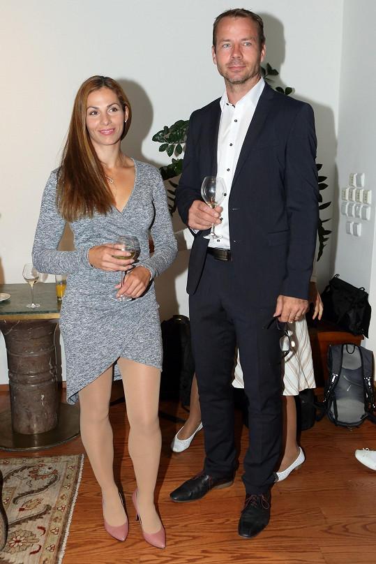S manželem Tomášem Janků