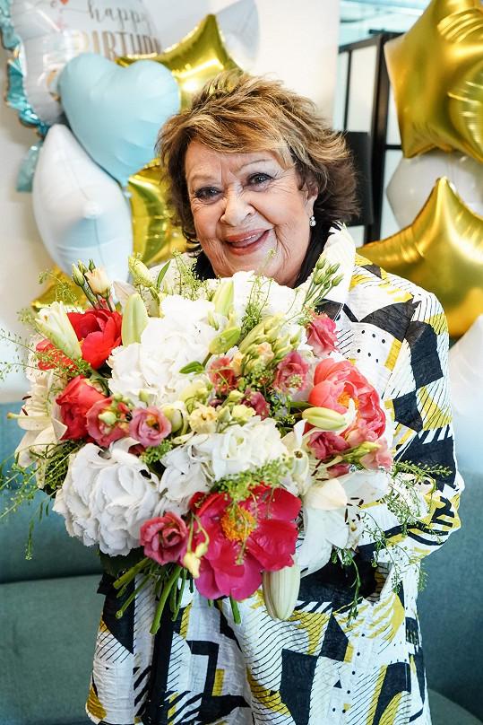 Jiřina Bohdalová oslaví devadesátiny 3. května.