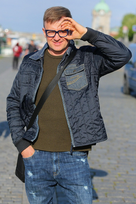 Petr Kotvald na svůj věk nevypadá.