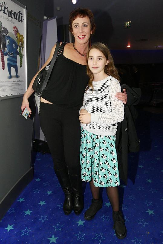 Kristýna Frejová s dcerou Ráchel