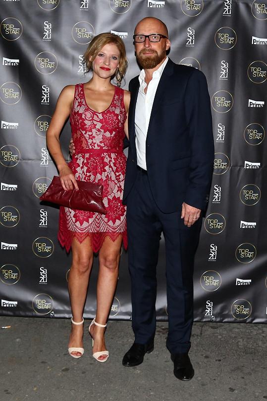 Jitka Ježková s manželem Milanem vyrazila na párty.