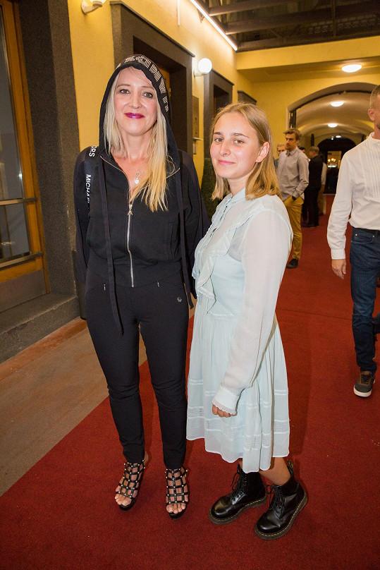 Mirjam Landa s dcerou Anastázií