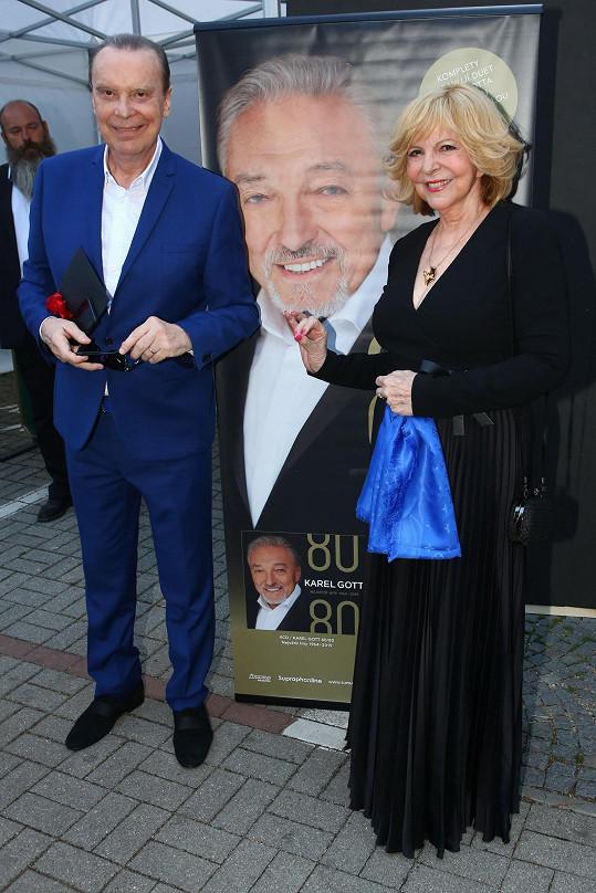 Štefan Margita s Hanou Zagorovou