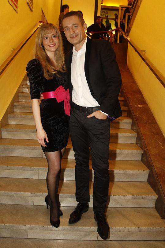 Lucie s Vladimírem Hronem
