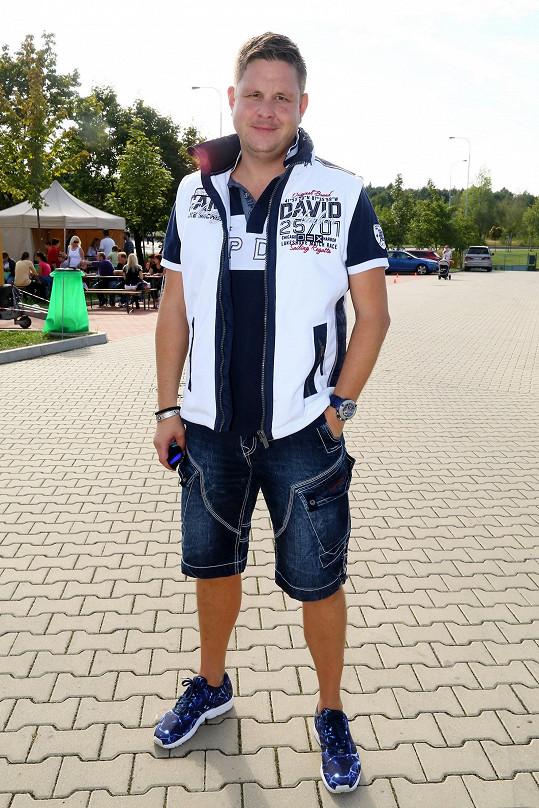 Michal Novotný v civilu