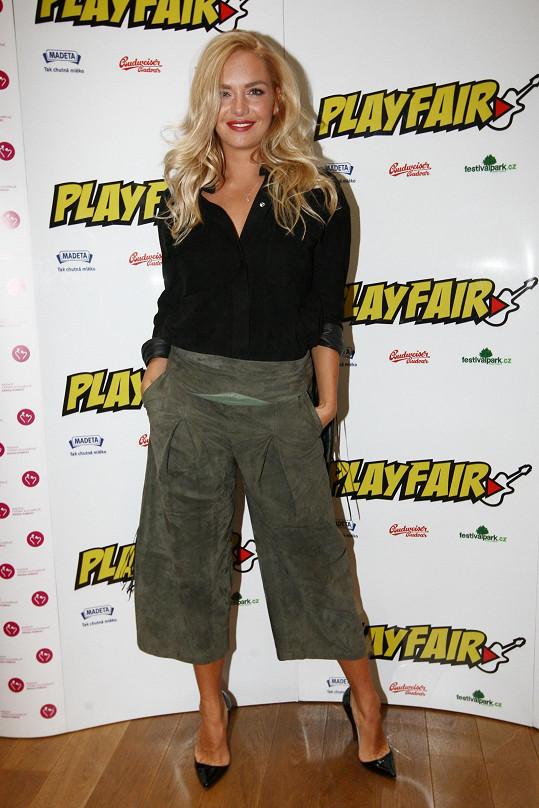 Táňa představila hudební festival PlayFair.