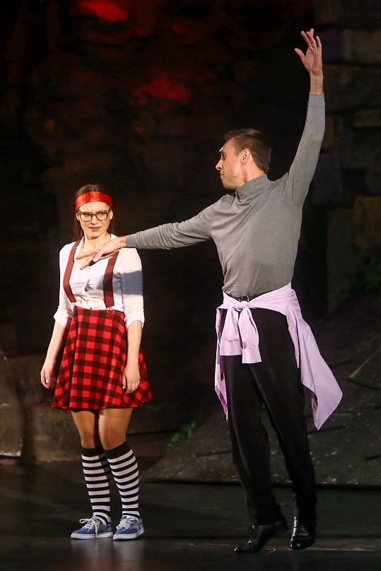 Herec exhiboval jako tanečník.