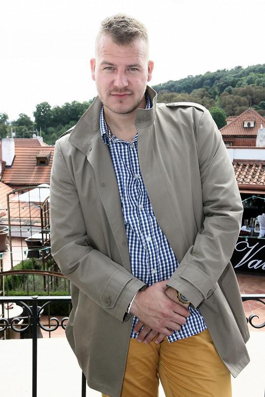 Vítěz prvního ročníku Muže roku Jiří Vácha