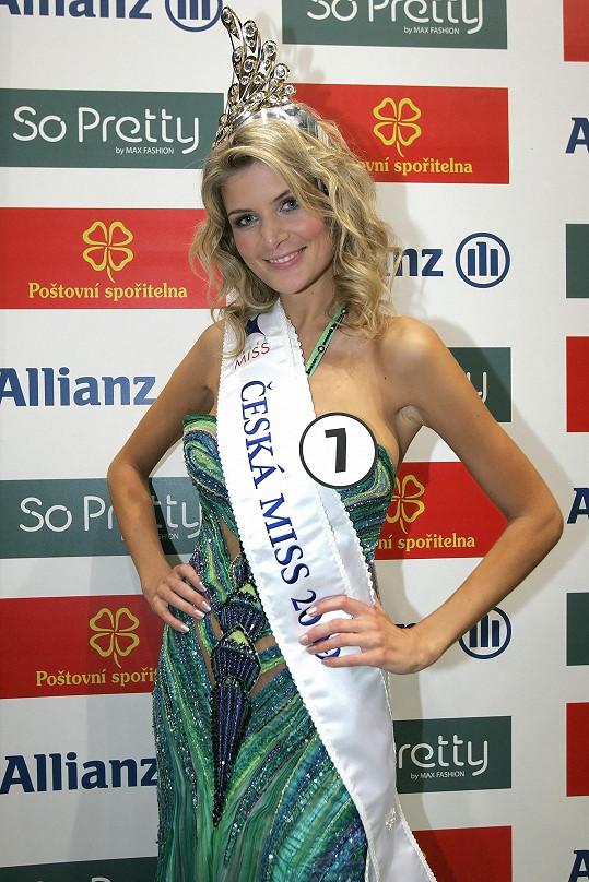 V roce 2009 vyhrála Českou Miss.