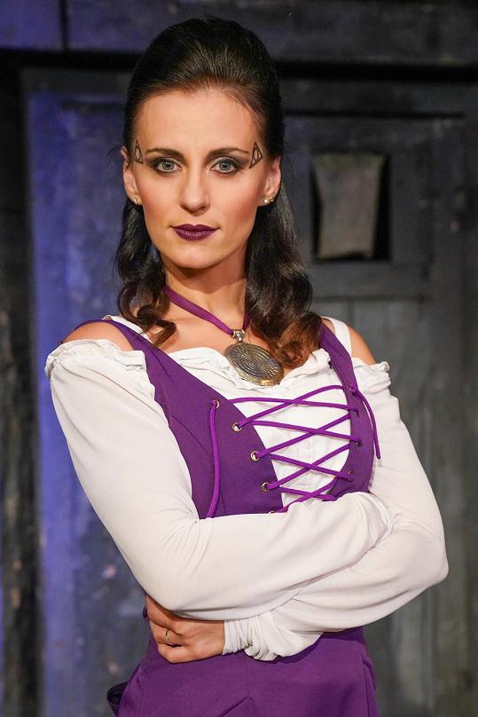 Markéta se narychlo učila hlavní ženskou roli Agnes.