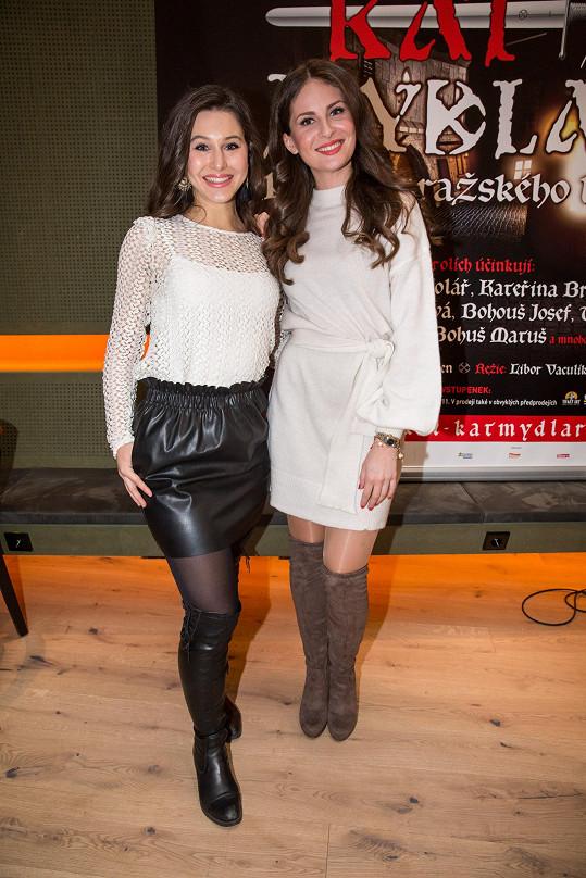 S kolegyní Mariannou Polyákovou