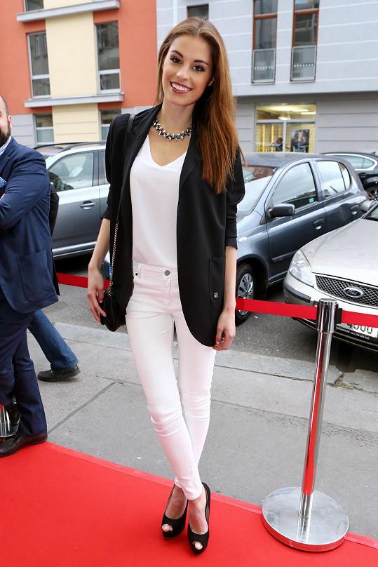 I. Vicemiss 2009 už bydlí s přítelem společně v Praze.