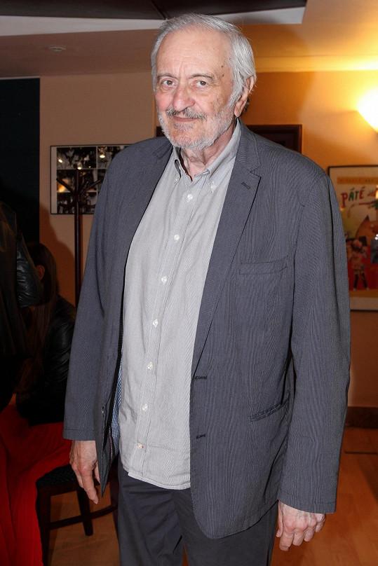 Milan Lasica zemřel po vystoupení v divadle Štúdio L+S.