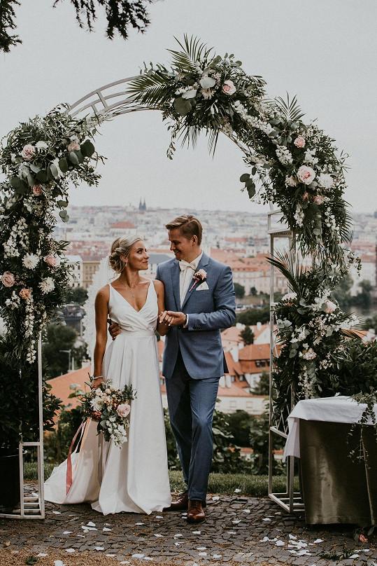 Prvním sezdaným párem jsou Natália a František.