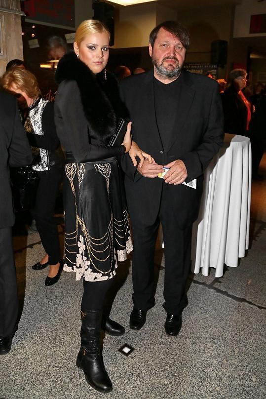 Josef Kokta s přítelkyní Ornellou Štikovou