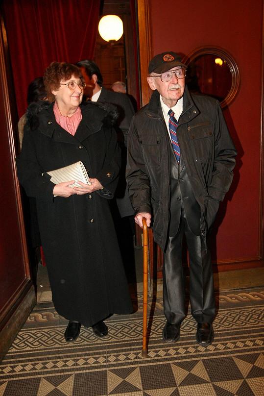 Lubomír Lipský s dcerou
