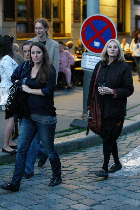 Olga Špátová a Olga Sommerová včera přišly na Koncert pro hrdiny.