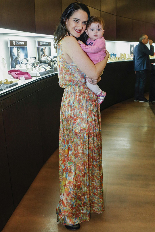 Libuška s dcerou Elou