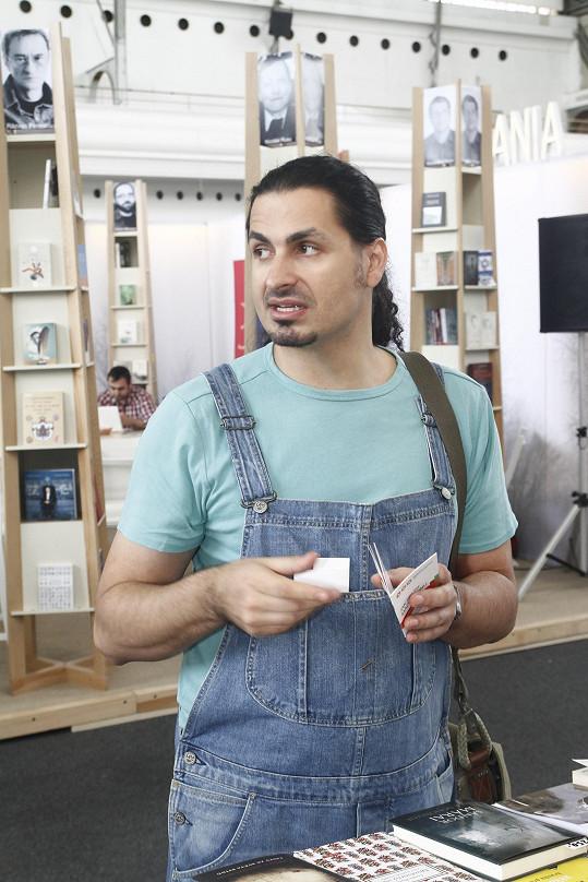 Vladko Dobrovodský se objevil na knižním veletrhu.