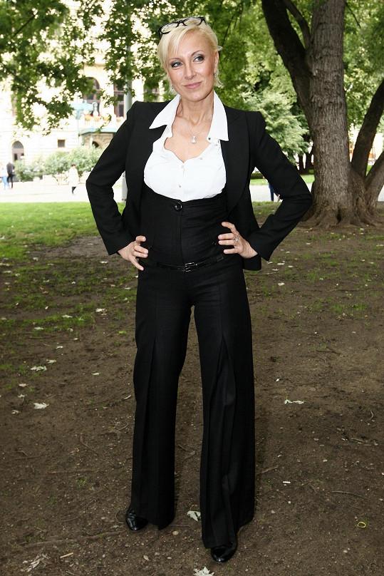 Čerstvě dvaapadesátiletá Renata Drössler
