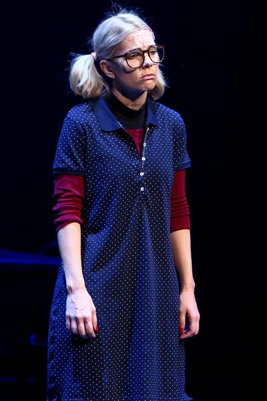 Michaela Nosková na svém koncertě v divadle Hybernia