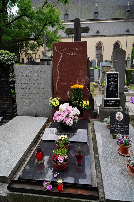 Waldemar Matuška byl pochován na Vyšehradském hřbitově. Opustil nás před 12 lety.
