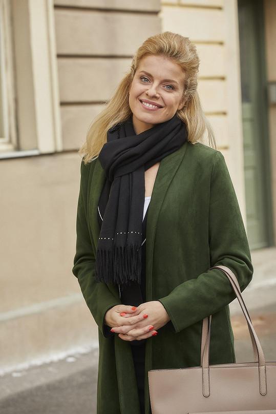 Vendula Fialová je nováčkem seriálu Ulice.