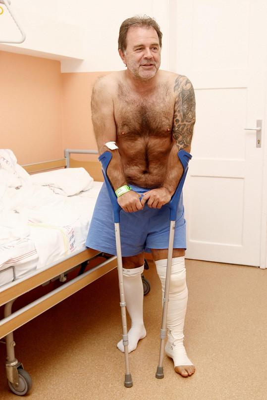 Po operaci je plný elánu.