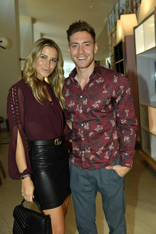 Veronika s partnerem Mírou Dubovickým