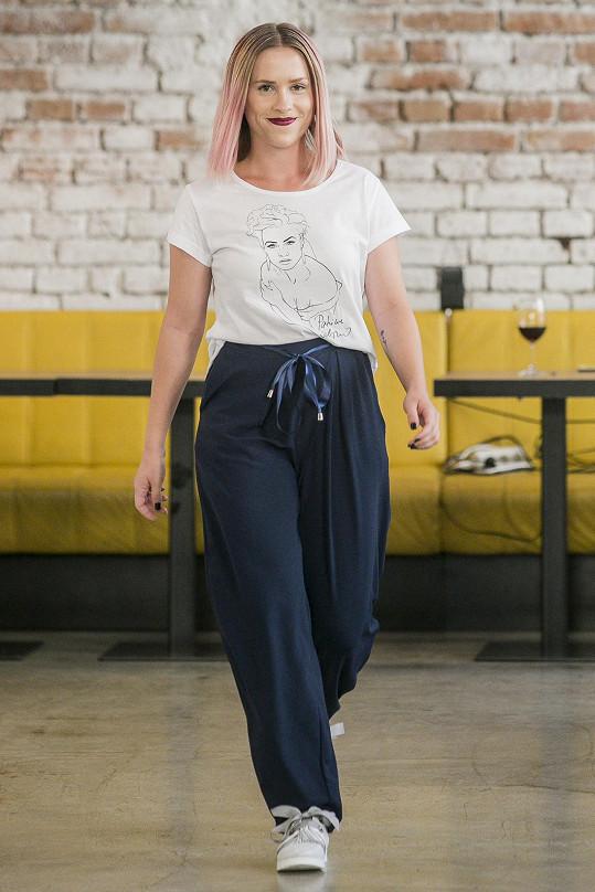 Mariana Prachařová byla ráda, že nemusela mít podpatky.
