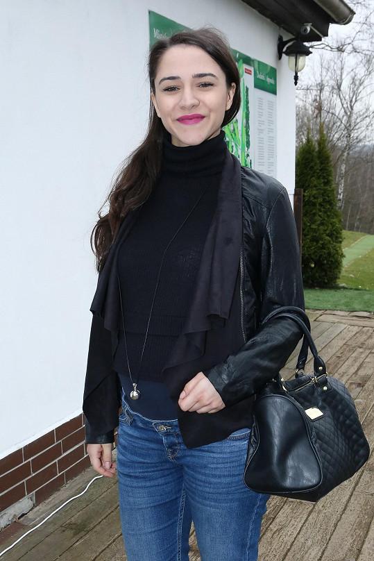 Eva Burešová je v 7. měsíci těhotenství.