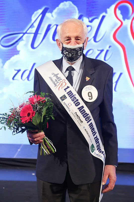 František Ždichynec se stal vítězem soutěže Anděl mezi zdravotníky.