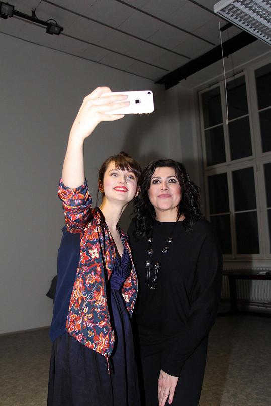 Patricie a Ilona Csáková si padly do oka před časem a začaly spolupracovat.